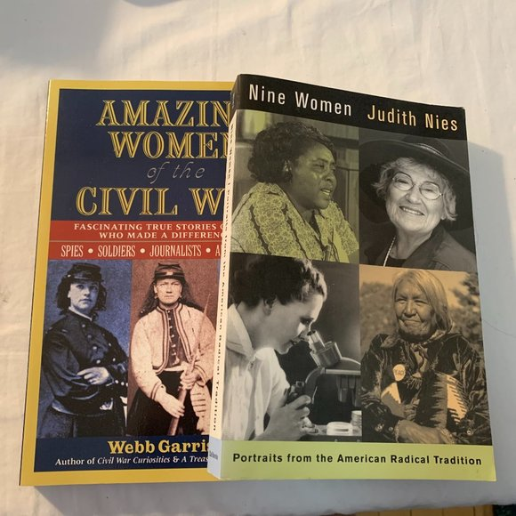 Nine Women & Amazing Women of the Civil War book